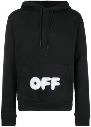 Off-White logo hoodie