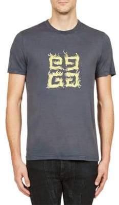 Givenchy GG Print Cotton Tee