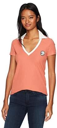 RVCA Women's Cheap Thrills V-Neck Polo Shirt