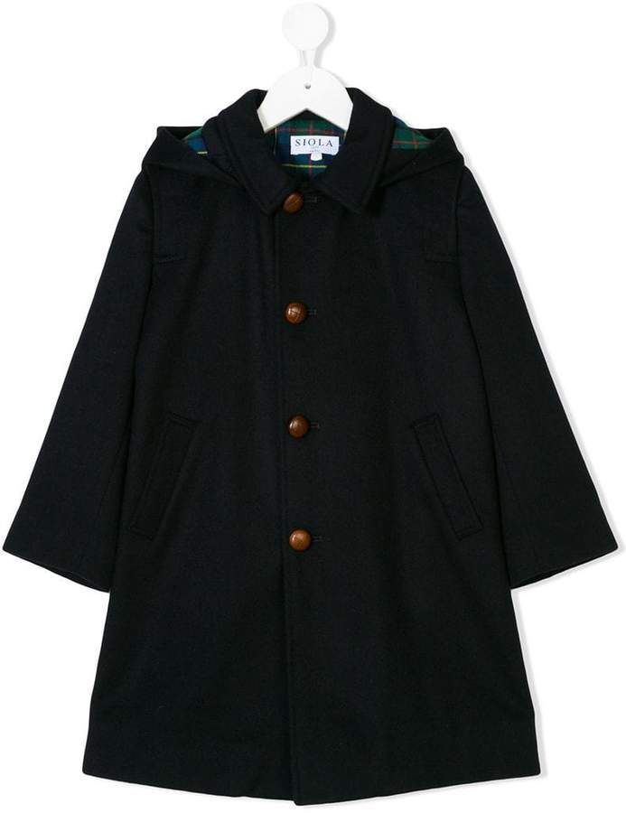 Siola wide sleeved buttoned coat