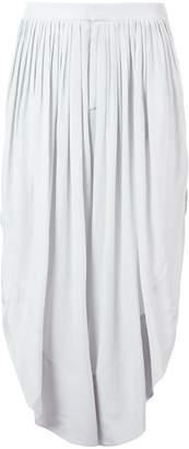 Chloé asymmetric cropped trousers
