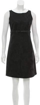 Miguelina Brocade Mini Dress