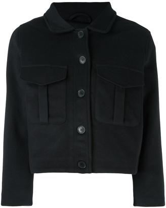 Levi's: Made & Crafted 'Ike' cropped jacket $306.21 thestylecure.com