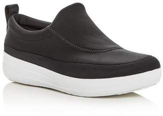 FitFlop Women's Freeflex Slip-On Platform Wedge Sneakers