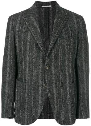 Eleventy woven stripe blazer