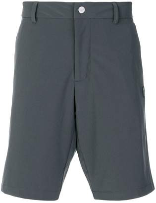 Emporio Armani Ea7 logo patch fitted shorts