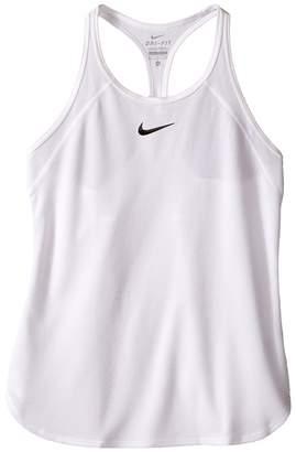 Nike Court Slam Tennis Tank Top Girl's Sleeveless