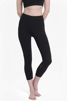 French Connection Comfort Stretch Cropped Performance Leggings