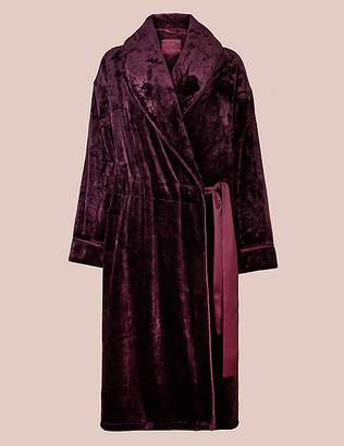 Marks and Spencer Luxury Fleece Long Sleeve Dressing Gown