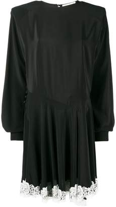 Alessandra Rich lace trim shift dress