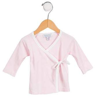 Baby CZ Girls' Knit Wrap Top