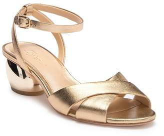 Vince Camuto Imagine Leven Leather Cynlindrical Heel Sandal