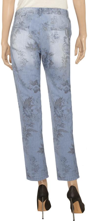 Vanessa Bruno Floral-print cotton pants