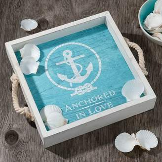 Lillian Rose Anchored in Love Wedding Serving Tray