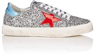 Golden Goose Women's May Glitter & Patent Leather Sneakers