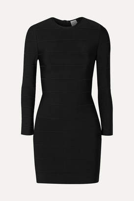 Herve Leger Bandage Mini Dress - Black