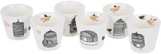Pols Potten Freedom Bird Cups - Set of 6
