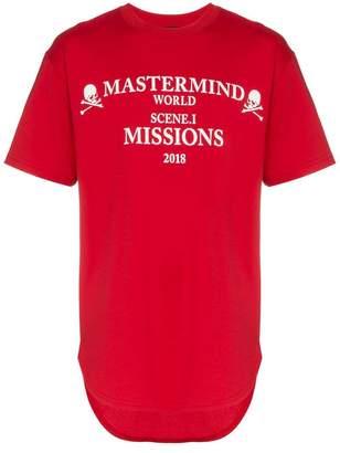 Mastermind Japan missions logo cotton t-shirt
