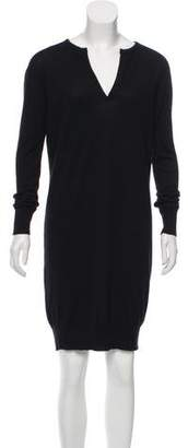 The Row Long Sleeve Knee-Length Dress