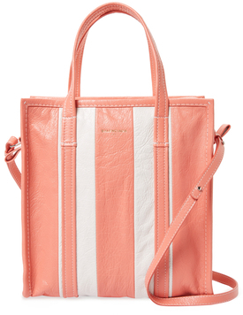 Balenciaga  Bazar Small Leather Shopper Tote
