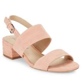 Via Spiga Gem2 Suede Slingback Sandals