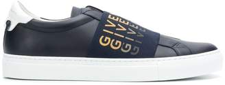 Givenchy elastic strap sneakers