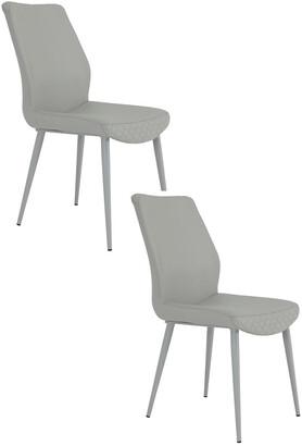 Pangea Set Of 2 Laurel Dining Chairs
