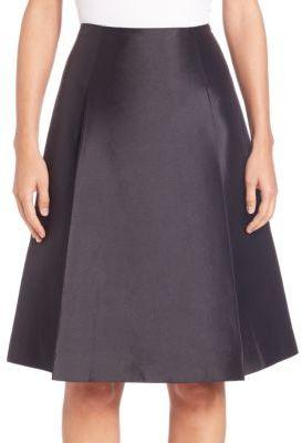 Silk A-line Skirt - ShopStyle Australia