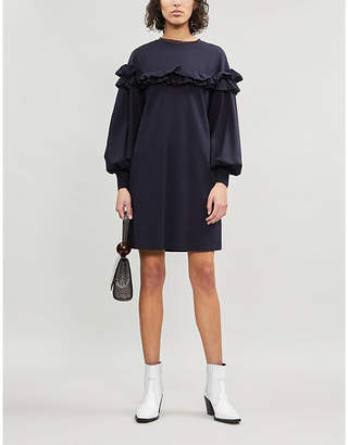 Ted Baker Andaa cotton-blend knitted dress