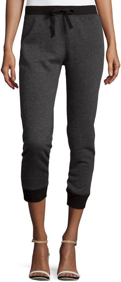 W by Wilt Knit Drawstring Sweatpants, Black