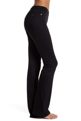 HUE Luster Twill Bootcut Legging $44 thestylecure.com