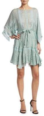 Zimmermann Breeze Veil Mini Dress