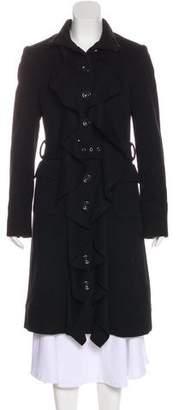 Diane von Furstenberg Wool Long Coat
