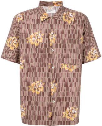 Universal Works floral print shirt