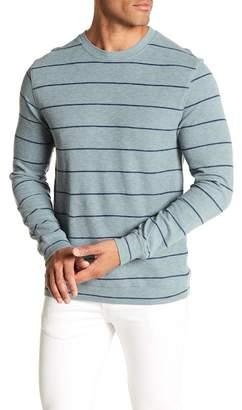 Grayers Baird Stripe Print Crew Neck Pullover