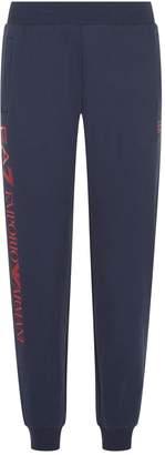Giorgio Armani Ea7 Diamante Logo Sweatpants