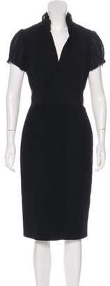 Alexander McQueen Midi Wool Dress w/ Tags