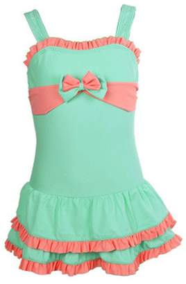 Pointss Girls' Swimwear Summer Swimsuit One Piece Beach Bath Suit