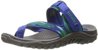 Skechers Women's Reggae-Brush Strokes Toe Ring Sandal