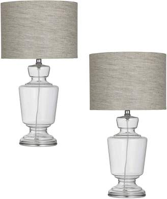Amalfi by Rangoni Verre Table Lamp (Set of 2)