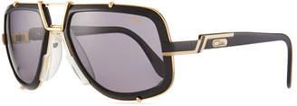 Cazal Men's 61mm Square Acetate/Metal Aviator Sunglasses
