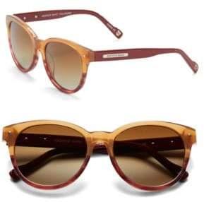 Andrew Marc 53mm Round Sunglasses