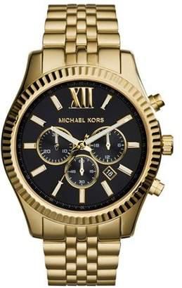 Michael Kors Men's Lexington MK8286 Gold Stainless-Steel Japanese Quartz Fashion Watch