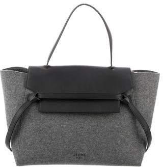 Celine Felt Mini Belt Bag