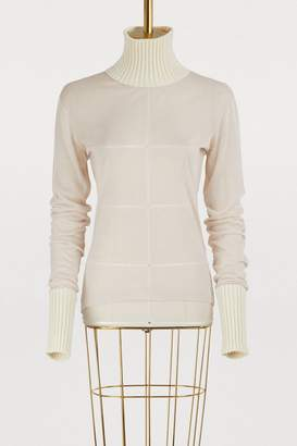 Maison Margiela Wool transparent sweater