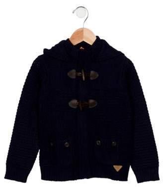 Mayoral Boys' Hooded Toggle Sweater navy Boys' Hooded Toggle Sweater