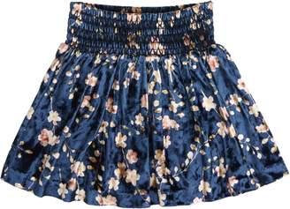 Peek Pixie Velvet Skirt
