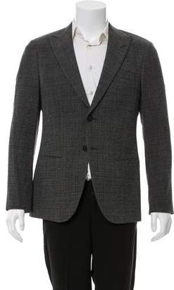 Giorgio Armani George Virgin Wool-Blend Marled Blazer