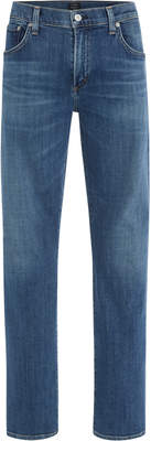 Citizens of Humanity Aurora Mid-Rise Straight-Leg Jeans
