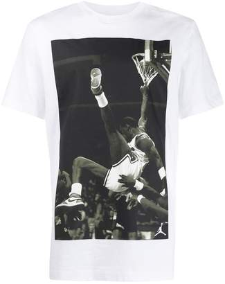 Nike photographic print T-shirt
